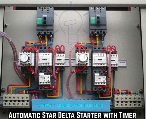 Star Delta Starter Power Control