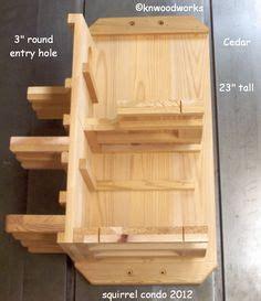 squirrel nest box plans squirrels pinterest bird houses bird house plans  house