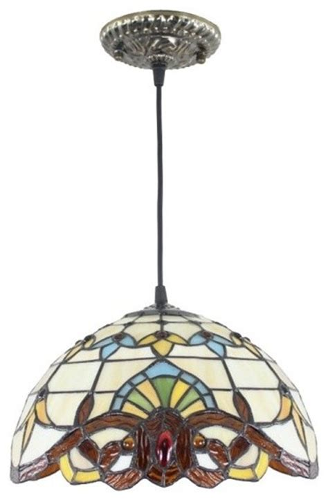 Tiffany Style Dining Room Baroque Pendant Ceiling Lighting