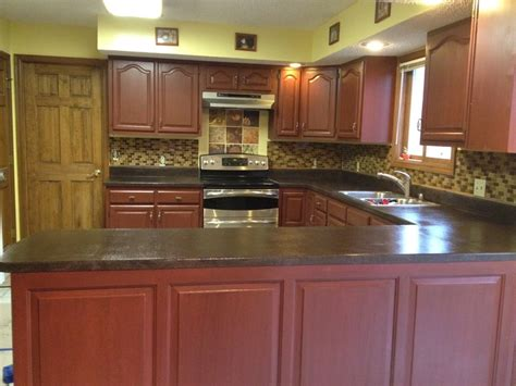 Complete Kitchen Remodel With Rustoleum Cabinet