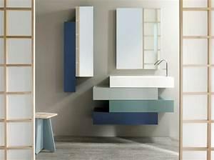 Couleur Mur Salle De Bain : couleur petite salle de bain sans fenetre fabulous couleur petite salle de bain belle ~ Dode.kayakingforconservation.com Idées de Décoration