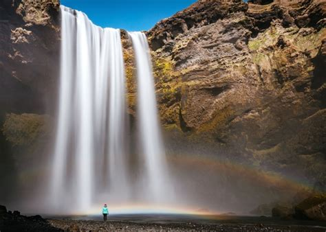 Water, Waterfall, Mountain, Nature, River, Rock