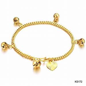 Gold Bracelets Designs Collection 2015 For Girls (4)