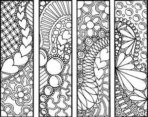 bookmark coloring pages az coloring pages