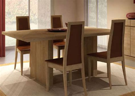 salle a manger contemporaine bali ch 234 ne massif meubles bois massif