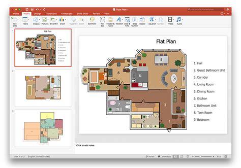 powerpoint floor plan template create floor plan