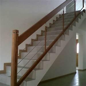 Habillage Escalier Interieur : rampe et habillage b ton escaliers somme ~ Premium-room.com Idées de Décoration