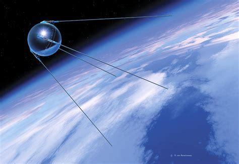 Sputnik 1 Satellite Photograph by Detlev Van Ravenswaay