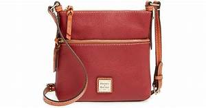 dooney bourke letter carrier leather cross body bag in With letter carrier satchel