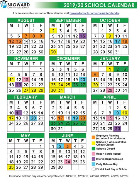 broward county public schools calendar tamarac talk