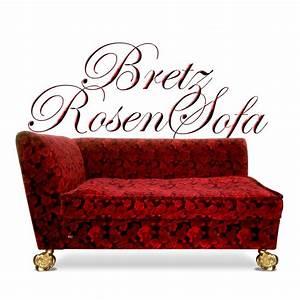 2 Sitzer Sofa Mit Recamiere : bretz sofa monster rosenstoff rot 2 sitzer anbauteil recamiere ~ Frokenaadalensverden.com Haus und Dekorationen
