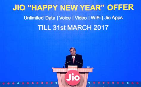 india s richest is offering 4g for free to all his 52 million users for 3 more months