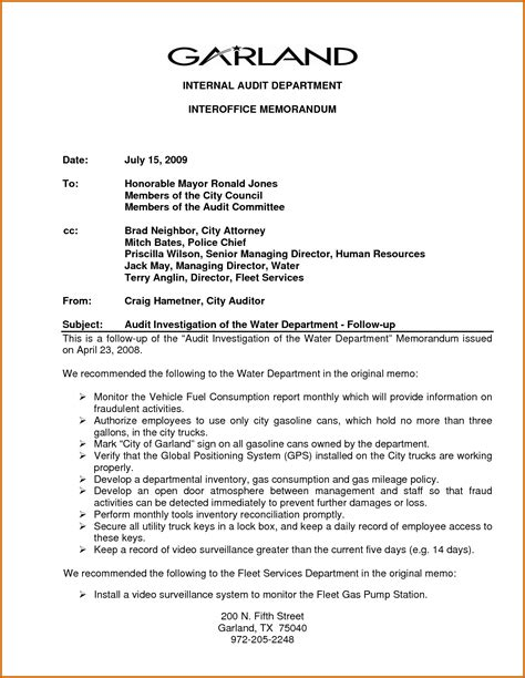 internal memo samples 8 internal memo examples lease template