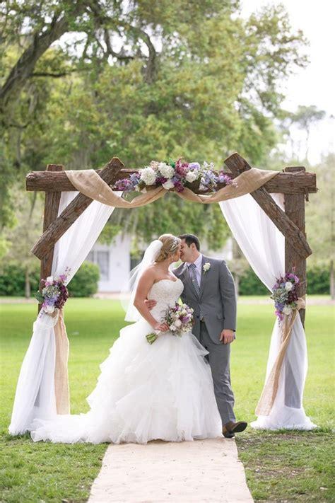 davids bridal bride lauren chose  oleg cassini gown