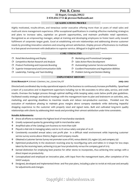 Assistant Retail Store Manager Resume by Free Hardware Store Assistant Manager Resume Retail