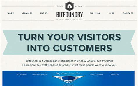 Bid Websites 30 Exles Of Beautifully Sized Website Layouts