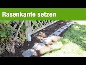 Pflastersteine Selber Machen : ratgeber rasenkante m hkante verlegen in 8 schritten youtube ~ Yasmunasinghe.com Haus und Dekorationen