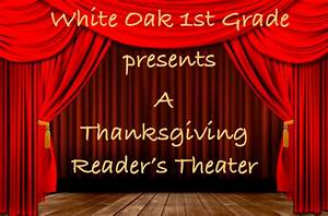 First Grade Reader's Theater | White Oak Elementary School