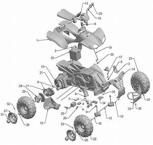 Power Wheels Kawasaki Kfx Ninja Parts