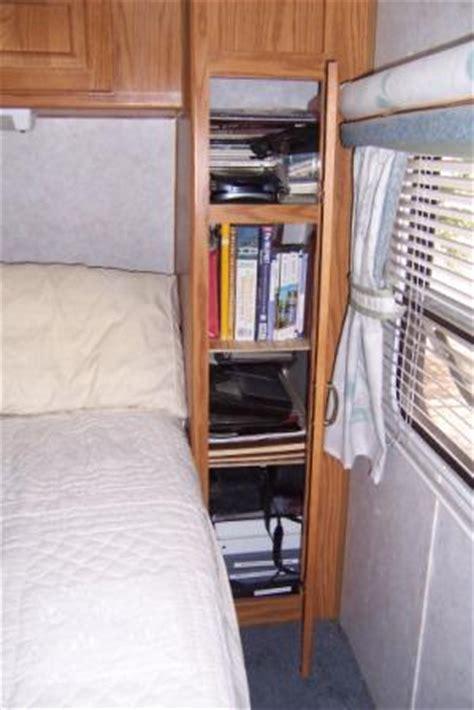 rv closet organizer an rv closet remodel makes a narrow cabinet useful