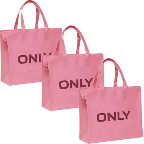 only tasche 3er pack shopping bag umh 228 nge shopper einkaufs schulter tasche neu