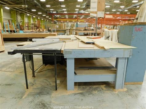 sawstop industrial table saw west auctions auction auction 1 complete warehouse