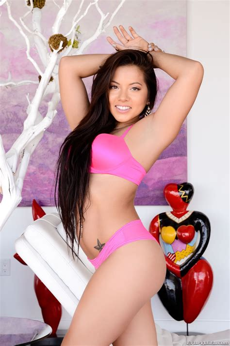 Petite Asian Pornstar Morgan Lee Naked