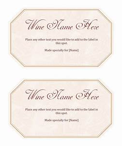 wine label template make your own wine labels With free wine labels to print