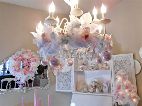 Olivias Romantic Home Shabby Chic Pink Christmas