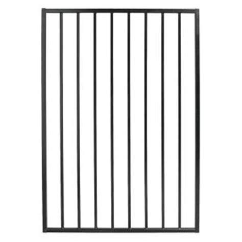 home depot wrought iron trento garden gate metal fencing