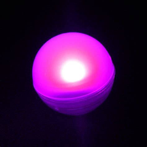 pink fairy berry floating led light