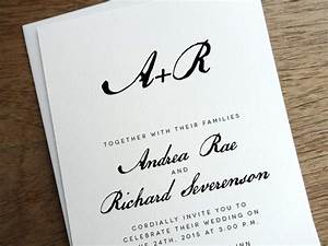 get modern wedding invitations from empapers With calligraphy on wedding invitations do it yourself