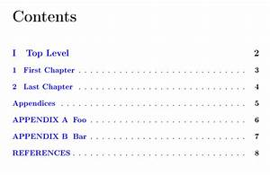 Remove appendices page keep individual appendices - TeX ...