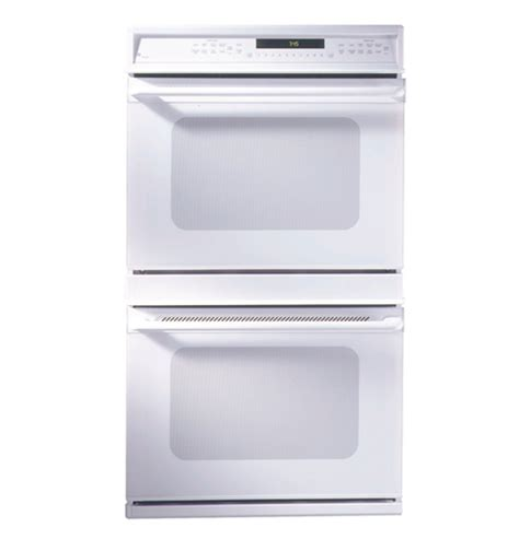 ge monogram  american design white double convection wall oven zetwaww ge appliances