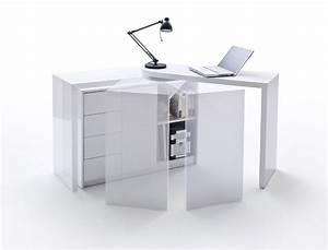 Schreibtisch Weiß Mit Regal : schreibtisch matteo wei hochglanz b rotisch computertisch regal b ro wohnbereiche wohnzimmer ~ Bigdaddyawards.com Haus und Dekorationen