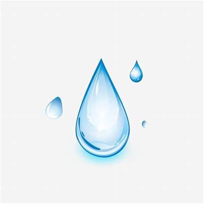 Water Cartoon Drop Drops Transparent Clipart Droplet