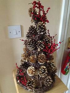 Fact Table 37 Amazing Pine Cone Christmas Tree Decorations Ideas
