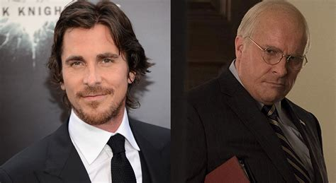 Christian Bale Gains Weight Play Dick Cheney Biopic