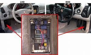 Fuse Box Diagram  U0026gt  Porsche 911  996   986 Boxster  1996