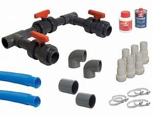 By Pass Piscine : kit by pass complet universal pour pompe chaleur piscine ~ Melissatoandfro.com Idées de Décoration