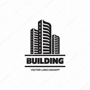 Building - vector logo concept illustration. Real estate ...