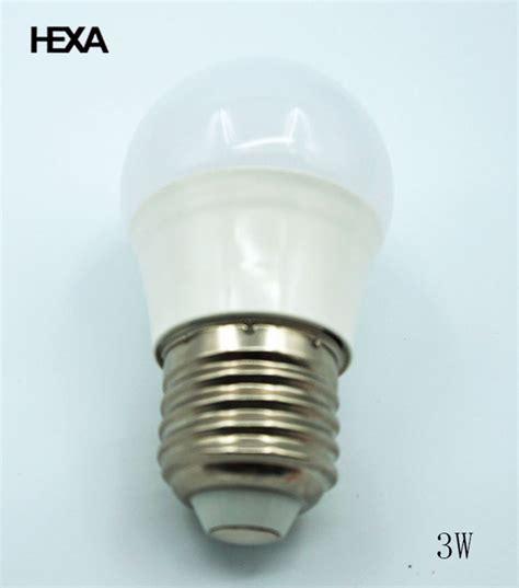 hexa e27 3w led l 220v economic models led bulb 40 watt