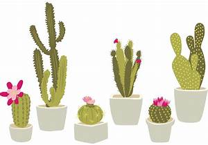 Hand Drawn Potted Cactus - Download Free Vector Art, Stock ...