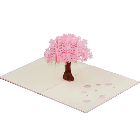 10 best cards cherry blossom cherry blossom pop up card s day pop up card