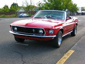 1969 Ford Mustang Convertible 302 V8 4-barrel 4:11 rear end - A true classic!