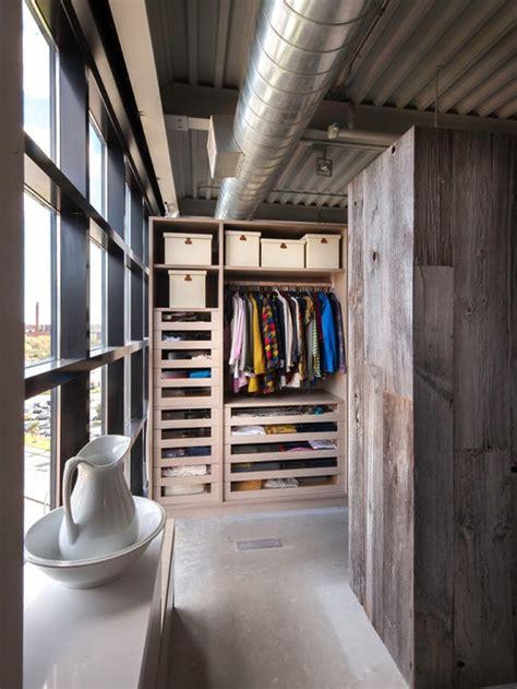 industrial walk  closet design ideas remodels