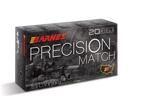 Barnes Precision Match Ammo 338 Lapua Mag 300 Grain Open