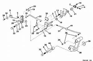 Johnson Shift  U0026 Throttle Linkage  Continued  Parts For