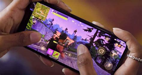fortnite mobile gameplay  android ios