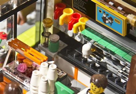 Skip to main search results. LEGO Movie Coffee Shop: Espresso Machine and Pastry Case